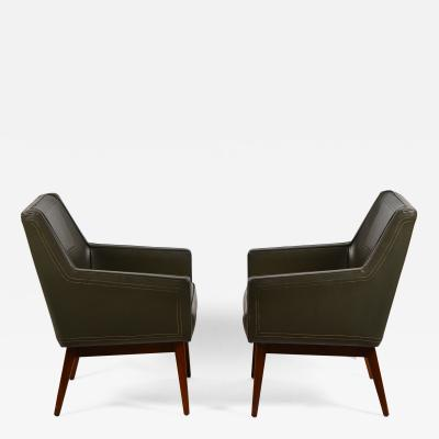 Vista of California Pair of Early Modernist Armchairs by Vista of California for Stow Davis