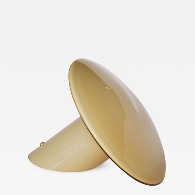 Vistosi Italian Glass Table Lamp Candia by Vistosi 1970s