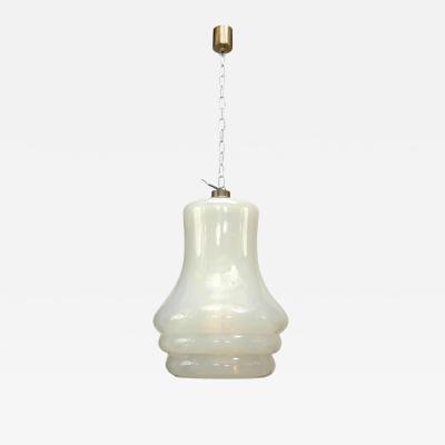 Vistosi Italian Venetian Murano Vistosi Opalescent Glass Lantern