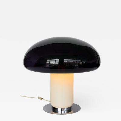 Vistosi Vistosi Purple Amethyst Murano Glass Mushroom Table Lamp
