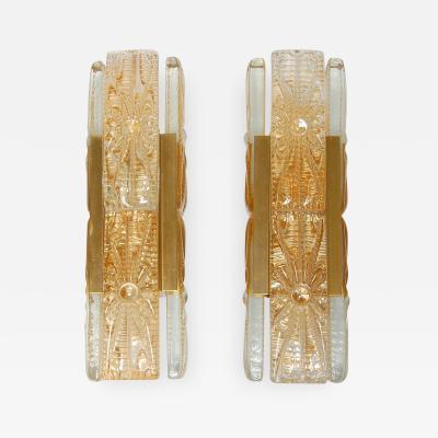Vitrika Pair of Wall Lights by Vitrika