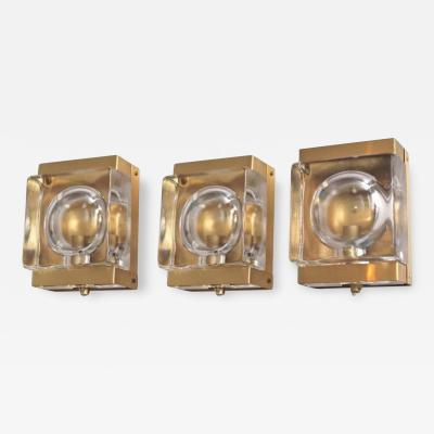 Vitrika Set of Three Wall Lights by Vitrika