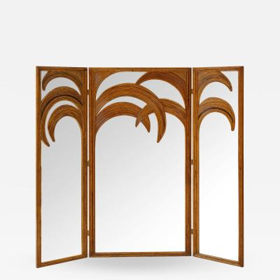 Vivai del Sud Bamboo Mirrored Screen