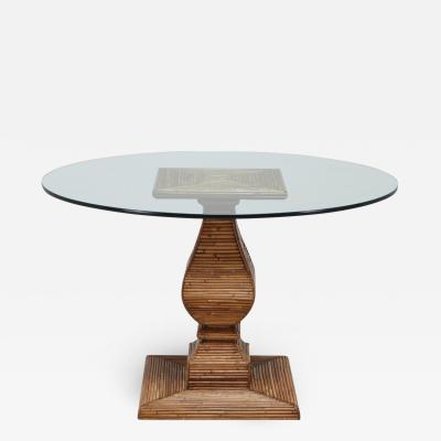Vivai del Sud Vivai Del Sud Dining Table In The Style Of Gabriella Crespi 1970