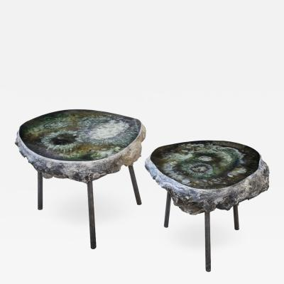 Von Pelt Pair of Side Tables Bonbooom designed by Von Pelt Atelier