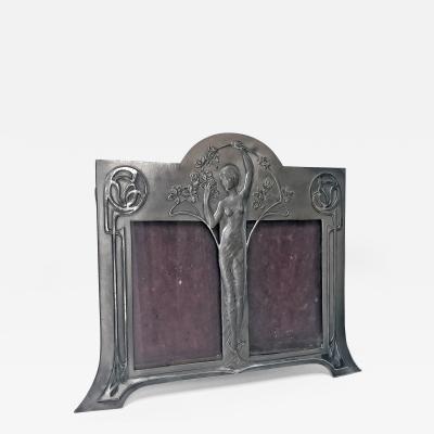 WMF Rare W M F Art Nouveau Double Frame Germany C 1900