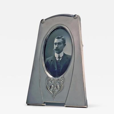 WMF W M F Art Nouveau Silver Plate Frame Germany C 1910