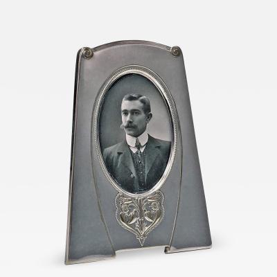 WMF W rttembergische Metallwarenfabrik W M F W M F Art Nouveau Silver Plate Frame Germany C 1910