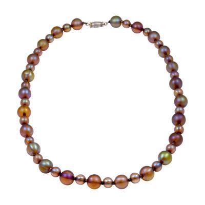 WMF W rttembergische Metallwarenfabrik W M F WMF Favrile Glass Beaded Necklace