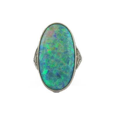 Walton Co Edwardian Opal Ring