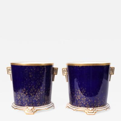 Wedgwood Late 19th Century Matching Pair of English Wedgwood Wine Coolers