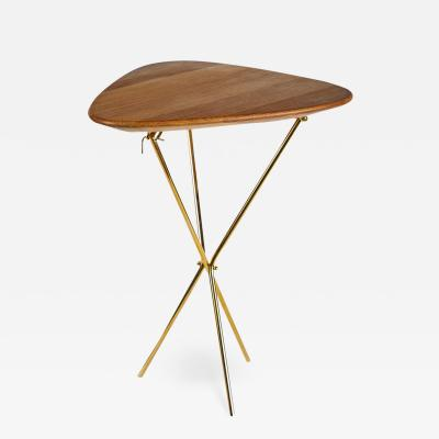 Werkst tte Carl Aub ck Carl Aubo ck Model 3642 Brass and Oak Table