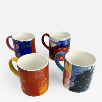 West Elm Robert Rauschenberg Coffee Mugs