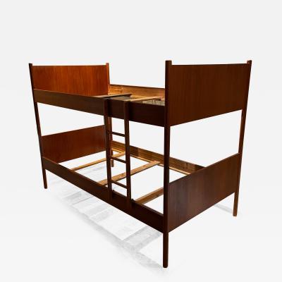 Westnofa of Norway Teakwood Bunk Bed Set or Twin Bed by WESTNOFA 1960s Norway