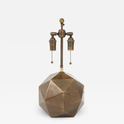 Westwood Industries Bronzed Geodesic Lamp by Westwood Industries