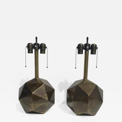 Westwood Industries Pair of Geometric Sphere Westwood Lamps