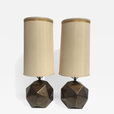 Westwood Industries Pair of Westwood Geometric Sphere Lamps