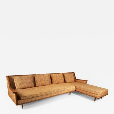 Widdicomb Furniture Co Mid Century Modern Designer Sectional Sofa by Widdicomb