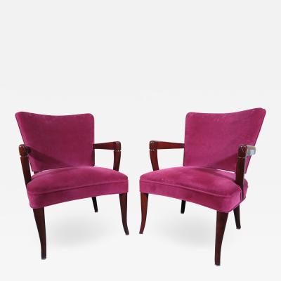 Widdicomb Furniture Co Pair of Arm Chairs Widdicomb