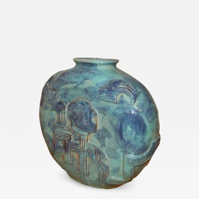 Wiener Werkst tte A Wiener Werkst tte Circular Vase by Karoline Jacobsen