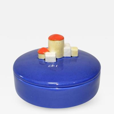 Wiener Werkst tte Wiener Werkst tte Lidded Porcelain Box