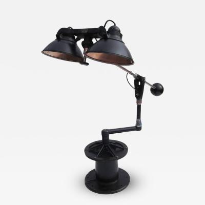 Wilmot Castle Co Industrial Floor Lamp by Wilmot Castle Company
