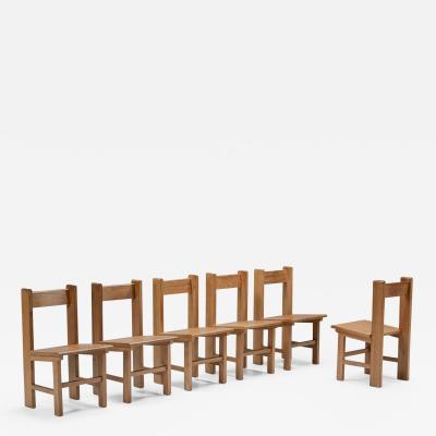 Wim Den Boon Wim Den Boon Dutch Modernism Dining Chairs 1950s