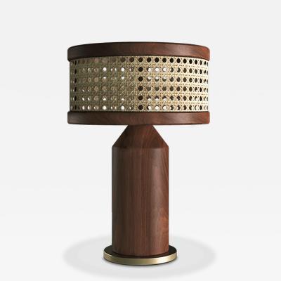 Wood Tailors Club Hamilton TABLE LAMP