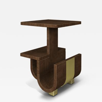 Wood Tailors Club Wodehouse Side Table