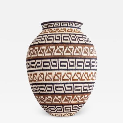Wounaan Weaver Snake Belly Design Wounaan Basket