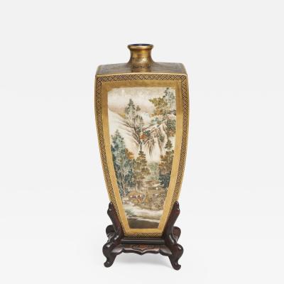 Yasuda Company A Japanese Meiji Period Satsuma Vase