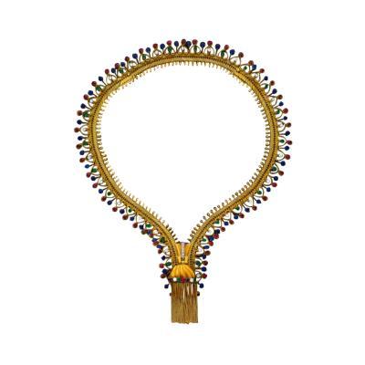 Ye Olde Timekeepers Inc 1971 Van Cleef Arpels Original Tutti Frutti Motif Zipper Necklace Bracelet