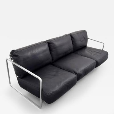 Zanotta Alfredo W Ha berli Christophe Marchand Zurigo Leather Sofa