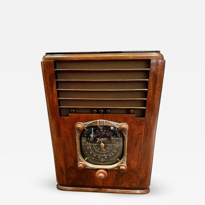 Zenith Electronics Zenith Art Deco Radio 6 S 128 Tombstone 1937 Bluetooth