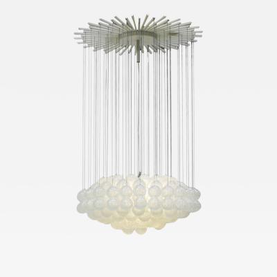 ZeroQuattro Mid Century Modern Edited by Zero Quattro Murano Glass Italian Pendant Lamp