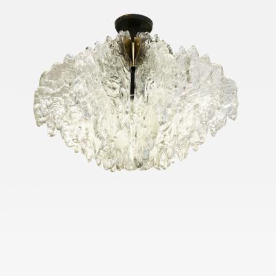 ZeroQuattro Textured Glass Ceiling Light by ZeroQuattro