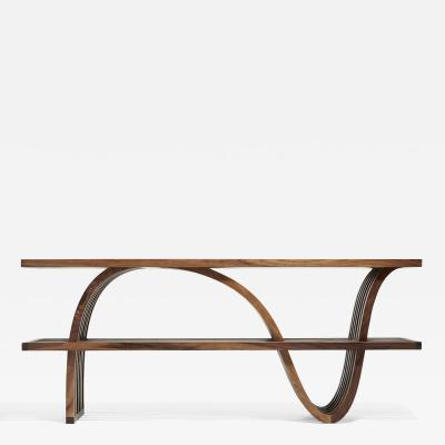 Zimmerman Workshop Ottra Console Table with Shelf