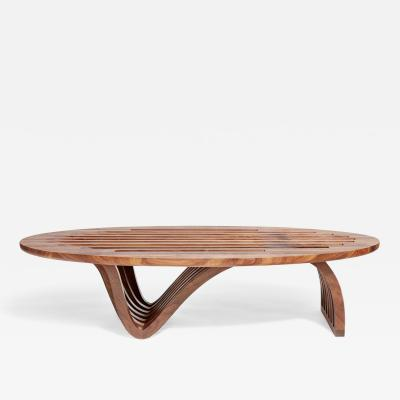 Zimmerman Workshop Ottra Elliptical Coffee Table