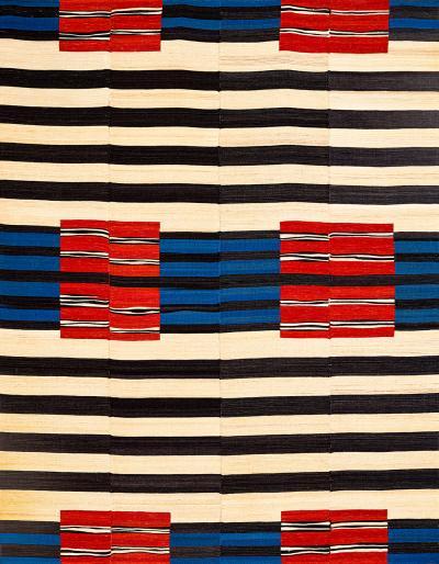 Zollanvari Studio After Navajo via Bauhaus Baneh Kelim Zollanvari Flatweaves Minimalist