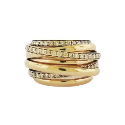 de Grisogono De Grisogono ALLEGRA Gold Diamond Ring