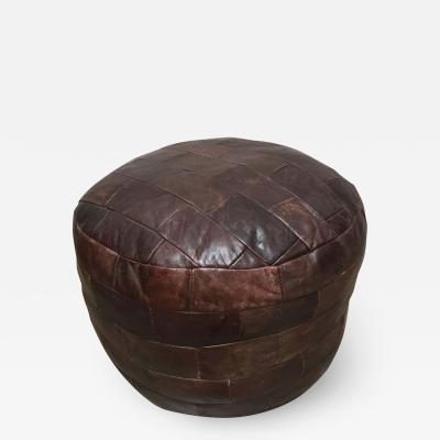 de Sede De Sede Brown Leather Ottoman