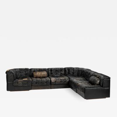 de Sede De Sede DS 11 Patchwork Sofa 70s Switzerland