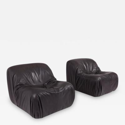 de Sede De Sede DS 41 Lounge Chair in High Quality Black Leather
