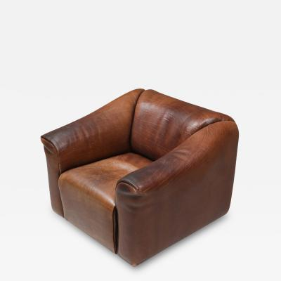 de Sede De Sede DS 47 Brown Leather Armchair 1970s