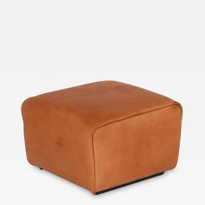 de Sede De Sede DS 47 Cognac Leather Ottoman 1970s