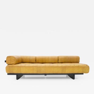 de Sede De Sede Leather Daybed DS 80 Sofa Bed Switzerland 1960s
