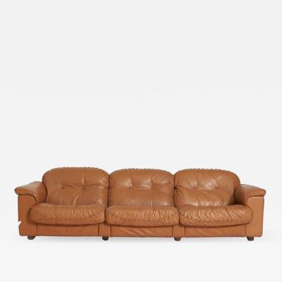 de Sede De Sede Leather Sofa DS 101