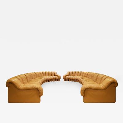 de Sede De Sede Matched Pair Of Iconic Non Stop Sofas 1970s