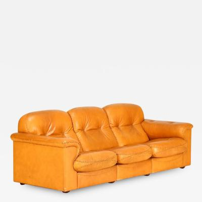 de Sede DeSede Leather Sofa
