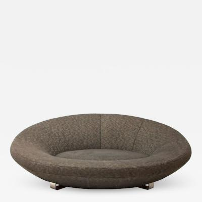 de Sede Mid century large oval sofa by De sede